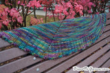 Palmer House Shawl FREE pattern - Biscotte yarns  - 3