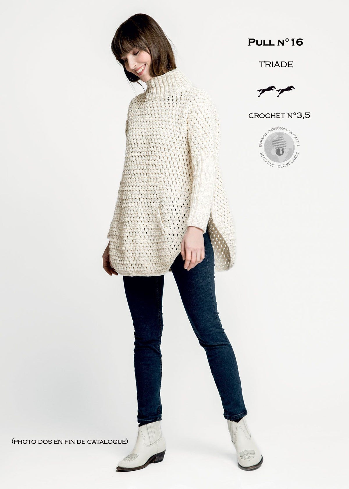 Cheval Blanc pattern Cat. 30-16 - Pull