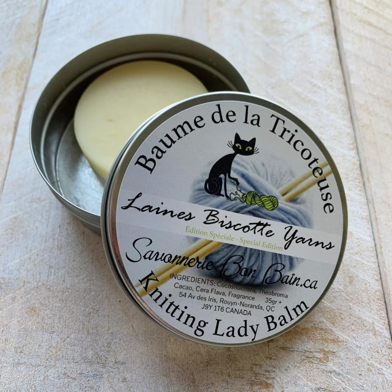 Knitting Lady Balm ♥ Biscotte's Special Edition