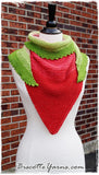 Shawl pattern - Watermelon Slice Shawl - Biscotte yarns  - 3