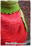 Shawl pattern - Watermelon Slice Shawl - Biscotte yarns  - 5