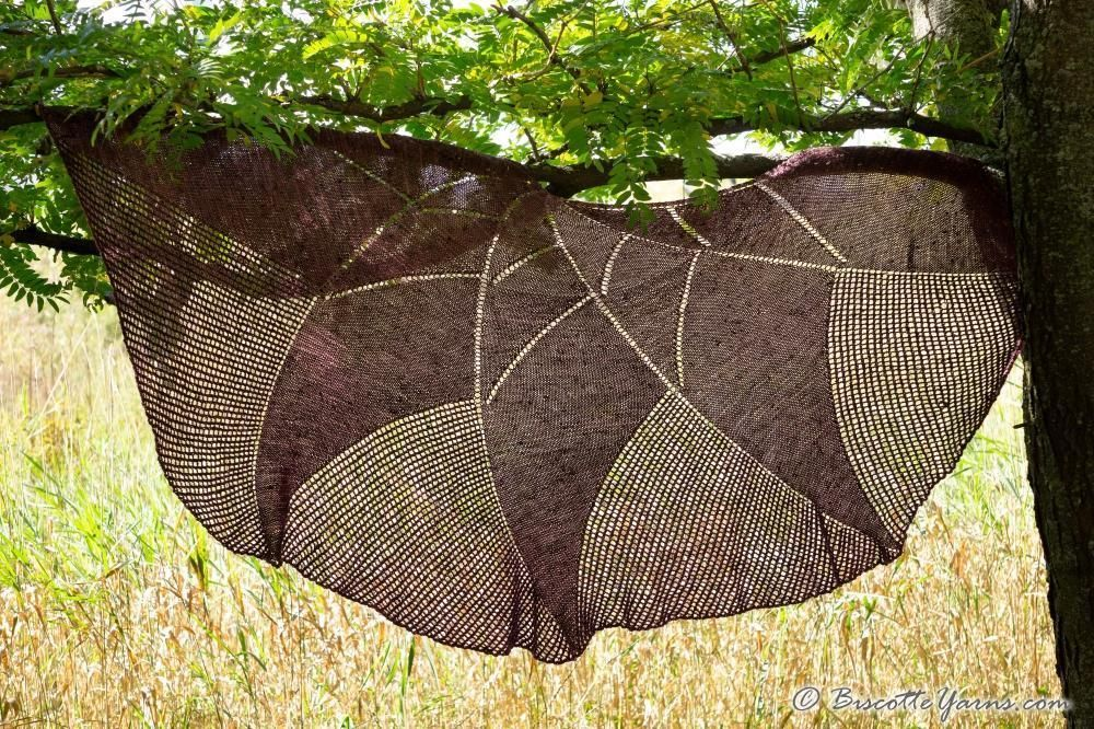 Exponential Shawl | Free Knitting Pattern