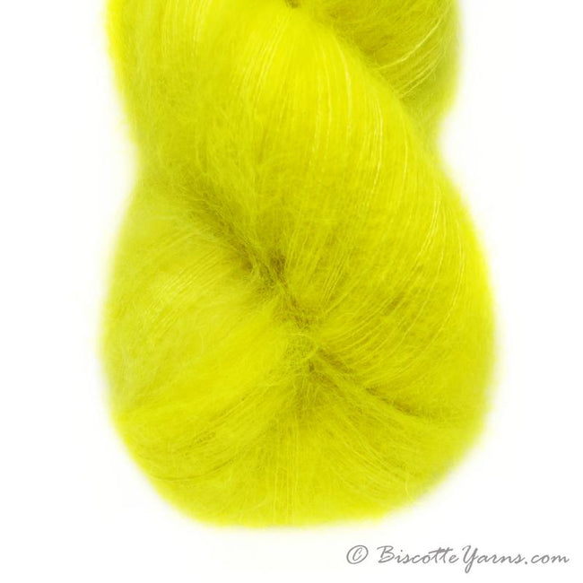 Hand-Dyed Kid Silk Yarn | Hermione FLASH