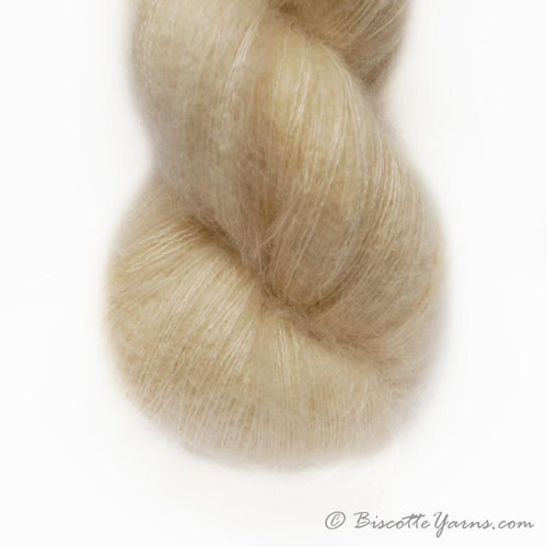 Hand-Dyed Kid Silk Yarn | Hermione VANILLE