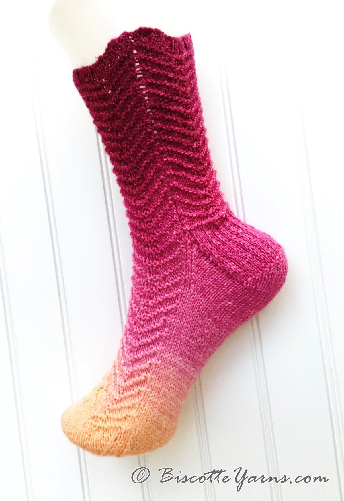 Free Socks Pattern - Metamorph Socks