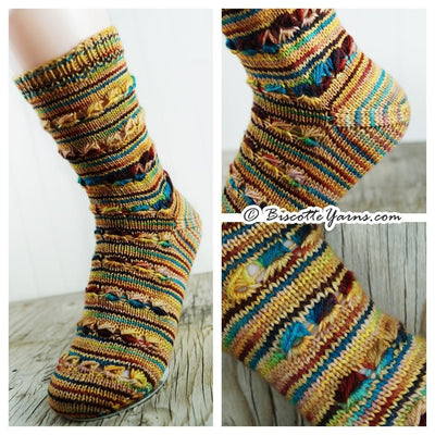 Free Socks Pattern - Brown Eyed Girl Socks
