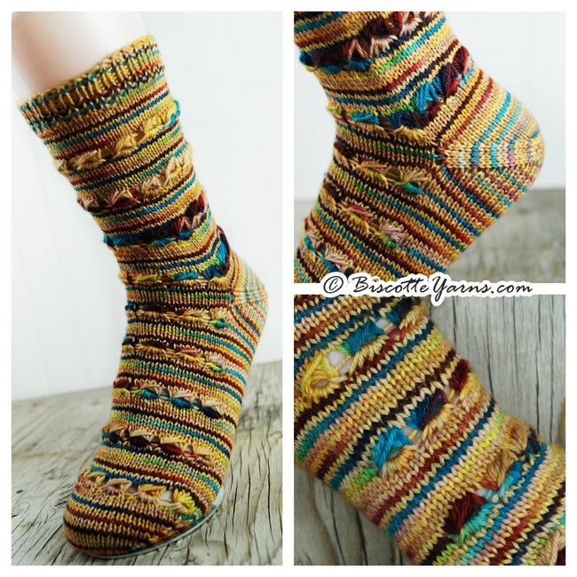 Free Sock Pattern - Brown Eyed Girl Socks