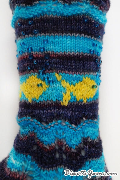 Sock pattern Oliver - Biscotte yarns