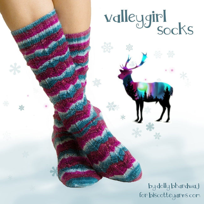 Knitting pattern ValleyGirl Socks