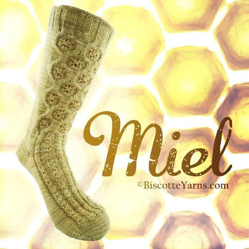 Socks pattern Miel 🍯