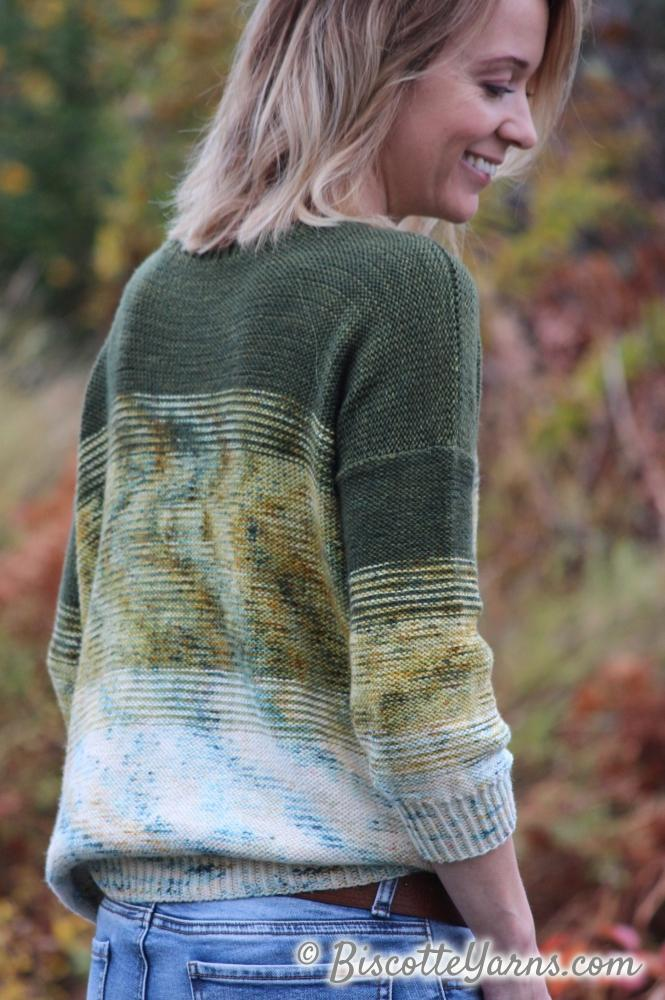 Twist of Fade | Free pullover Pattern