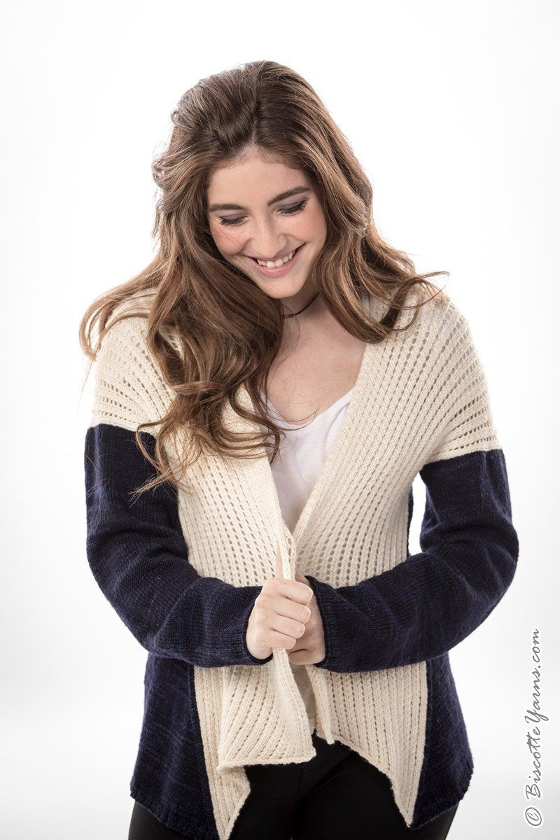 Knitting pattern ♥ Talias Horoscope sweater - Biscotte yarns