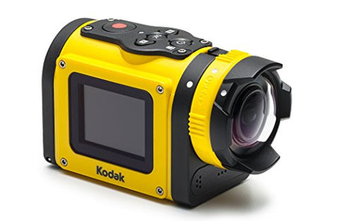 KODAK SP1 Action Cam Kit - Yellow