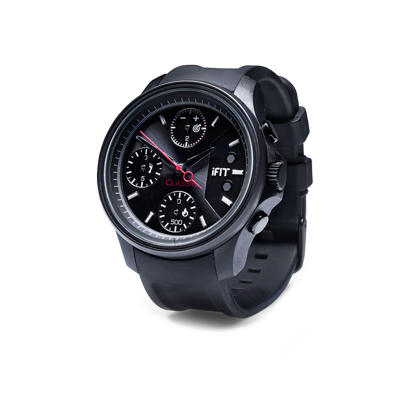 iFIT Classic Smart Watch - Black
