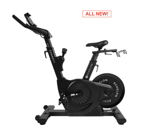 ECHELON EX3 Smart Connect Upright Exercise Bike (Black)