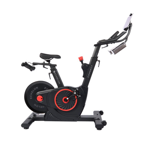 ECHELON EX5 Smart Connect Upright Exercise Bike (Red)
