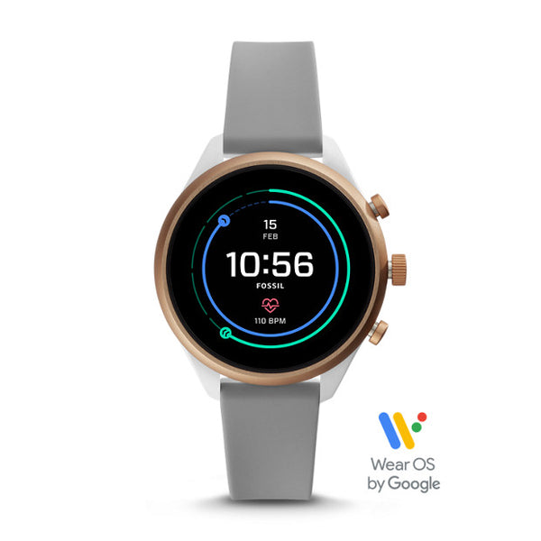 FOSSIL Sport Smartwatch - Gray Silicone (41MM)