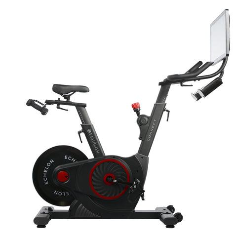 ECHELON EX5s Smart Connect Upright Exercise Bike (Red)