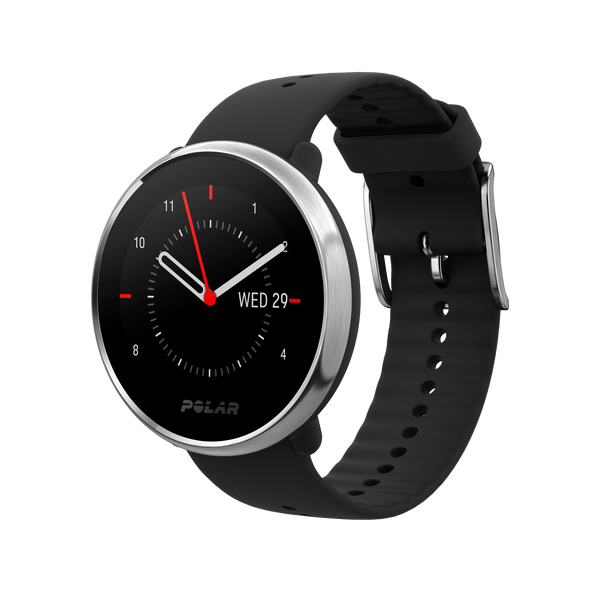 POLAR Ignite (Black/Silver - Small) for ChooseHealthy