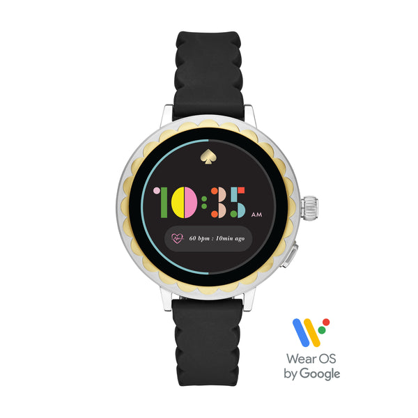 KATE SPADE Smart Watch 2 (Black Silicone) For ChooseHealthy