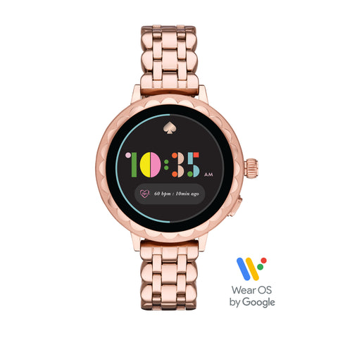 KATE SPADE Smart Watch 2 (Rose Gold Stainless Steel) For ChooseHealthy