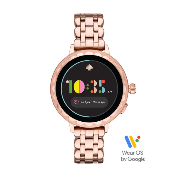 KATE SPADE Smart Watch 2 (Rose Gold Stainless Steel)