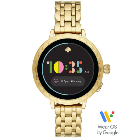 KATE SPADE Smart Watch 2 (Gold-Tone Stainless Steel) for ChooseHealthy