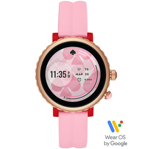 KATE SPADE Sport Smart Watch (Pink Silicone) for ChooseHealthy