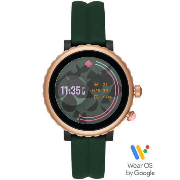 KATE SPADE Sport Smart Watch (Green Silicone)