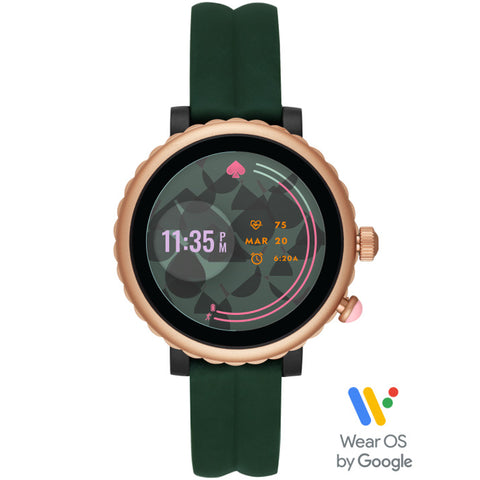 KATE SPADE Sport Smart Watch (Green Silicone) for Blue365