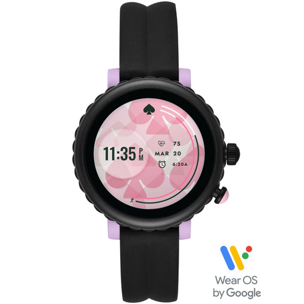 KATE SPADE Sport Smart Watch (Black Silicone) for ChooseHealthy