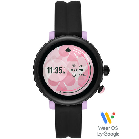 KATE SPADE Sport Smart Watch (Black Silicone)