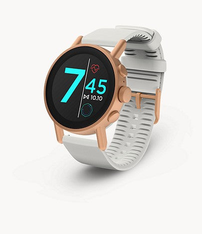MISFIT Vapor X Rose Gold-Tone (Gray Silicone Strap)