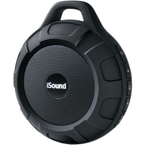 ISOUND 6704 DuraTunes Water-Resistant Bluetooth(R) Speaker (Black)