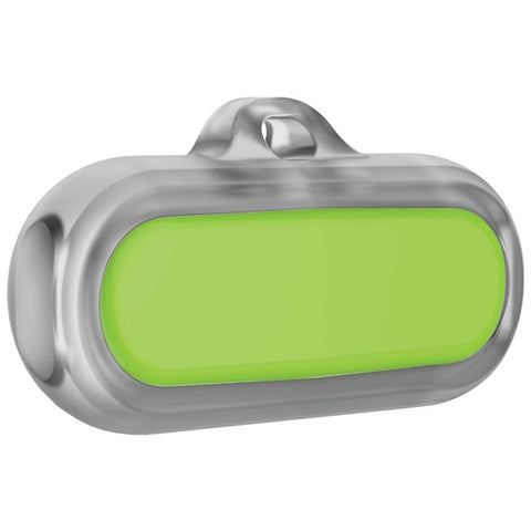 Poof(r) Sync66-0002 Bean Waterproof Pet Activity Tracker (lime)