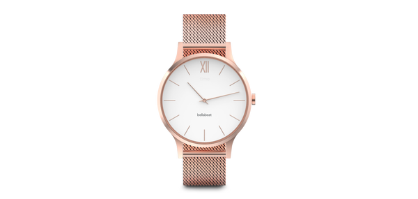 BELLABEAT - TIME Smartwatch (Rose Gold)