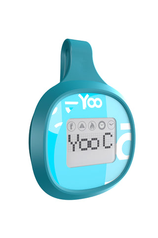 YOO C Bluetooth Smart Activity Tracker - Blue
