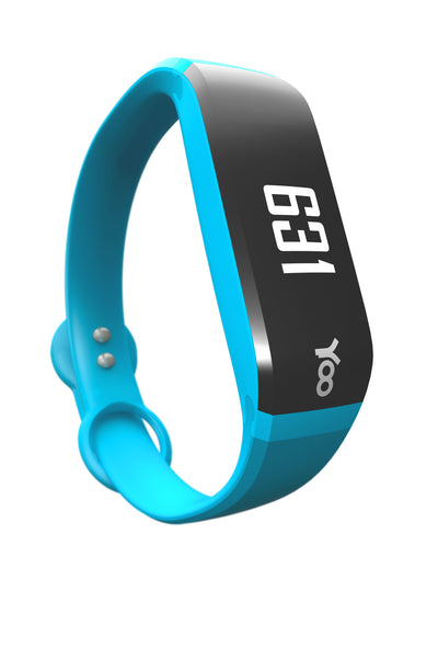 YOO HD Bluetooth Smart Fitness Band (Blue)