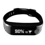 YOO RX Bluetooth Smart Soft Touch Fitness Band - Black