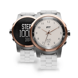 iFIT Duo Smart Watch - Cloud (White/Round)