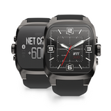 iFIT Duo Smart Watch - Knight (Black/Square)