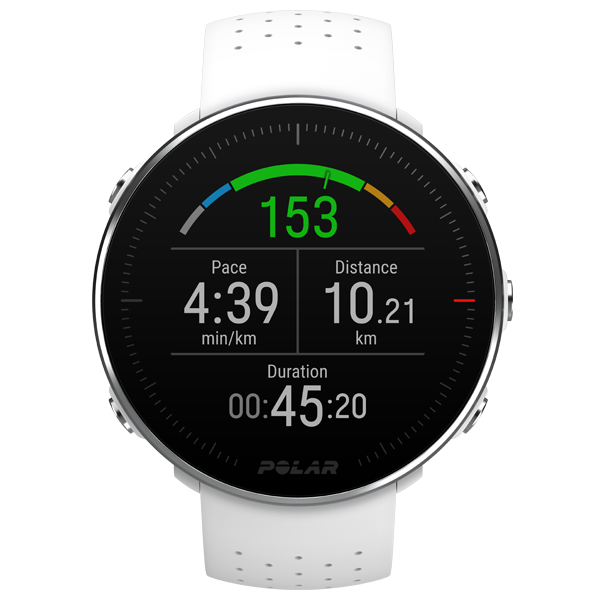 POLAR Vantage M (White, Med/Large) for ChooseHealthy