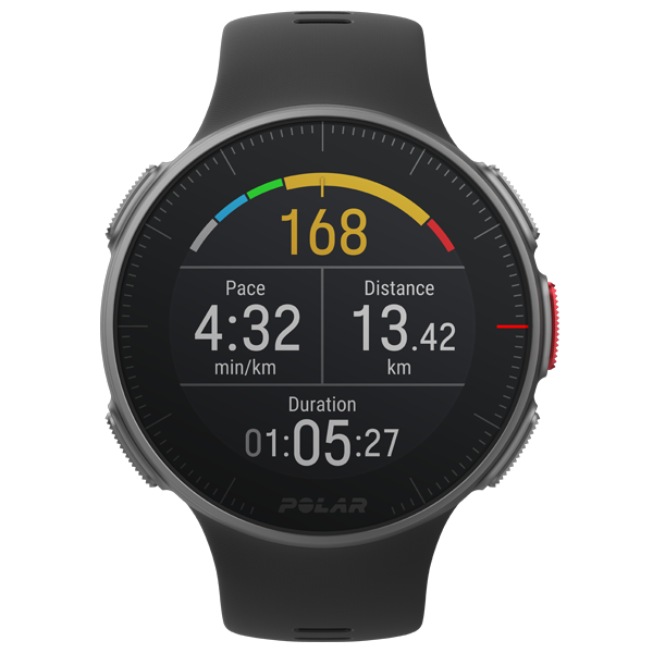 POLAR Vantage V (Black with HR Monitor) for ChooseHealthy