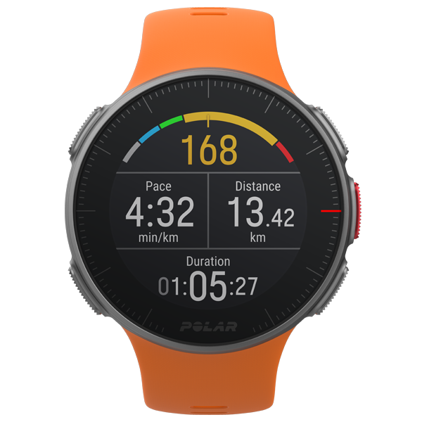 POLAR Vantage V (Orange with HR Monitor) for ChooseHealthy