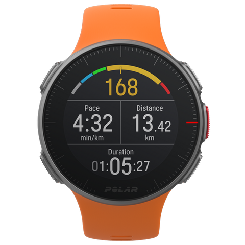POLAR Vantage V (Orange with HR Monitor)