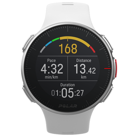 POLAR Vantage V (White with HR Monitor)