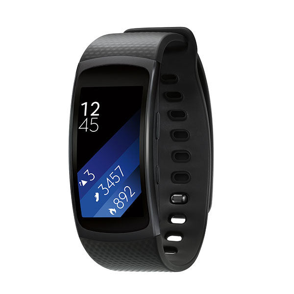 SAMSUNG Gear Fit 2 (Large) - Black