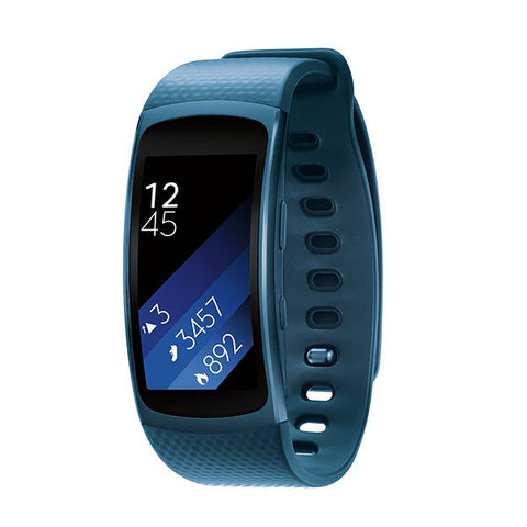 SAMSUNG Gear Fit 2 (Large) - Blue
