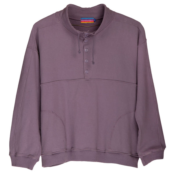 BOARD HEAD ANORAK SWEATER (DEEP LAVENDER)