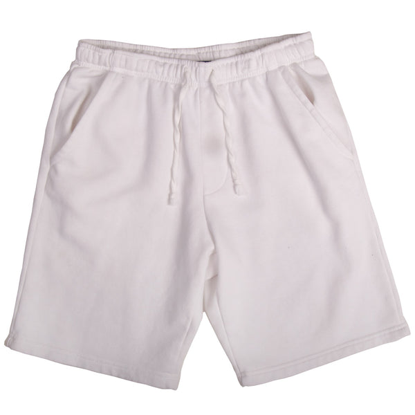 BOARD HEAD SWEAT SHORTS (WHITE)